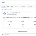 Google検索結果に自サイトの統計情報が表示される