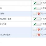AdSenseの最適化テスト「ブロックのコントロール」をやってみた